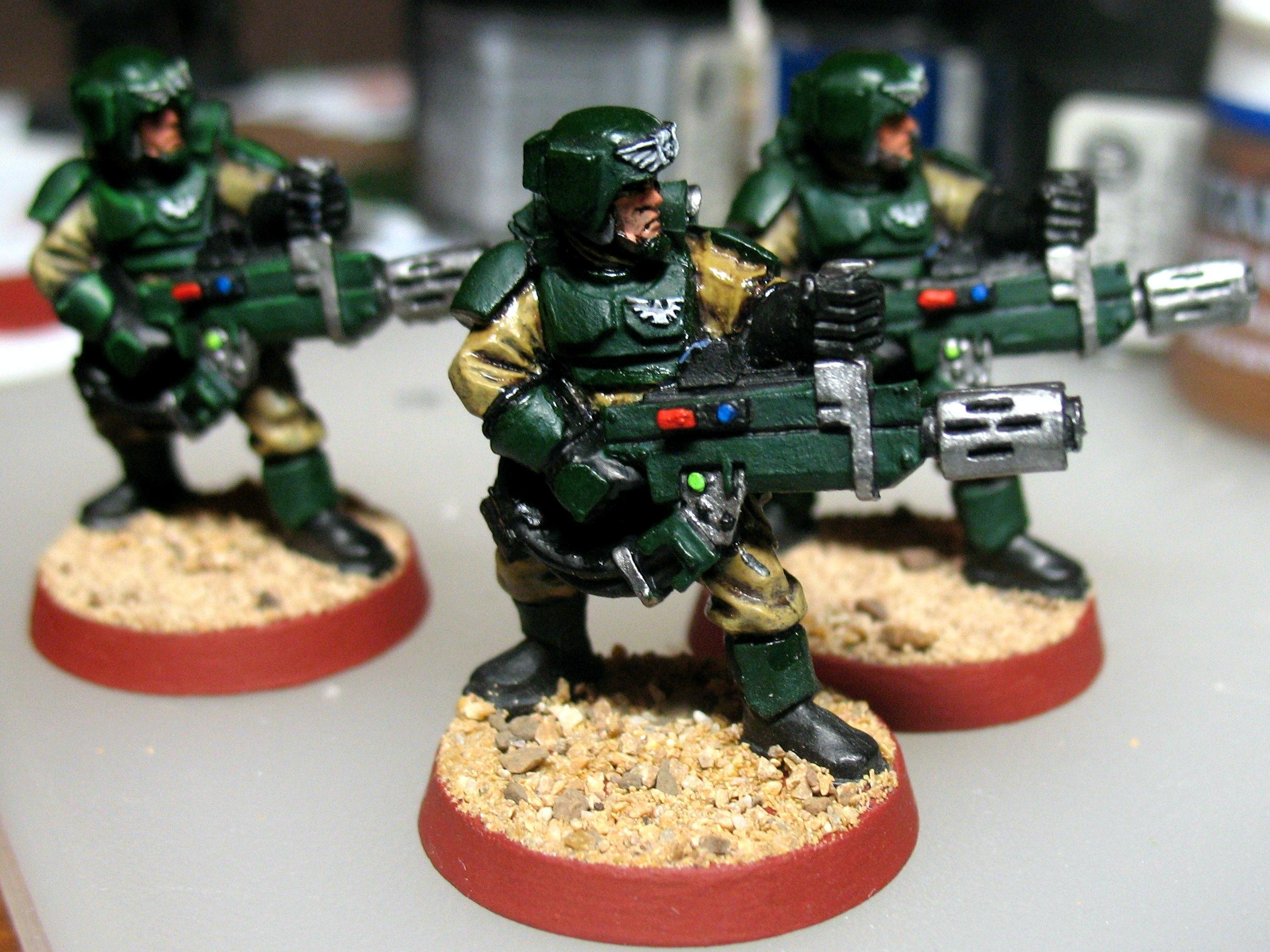 Cadians, Imperial Guard, Meltagun