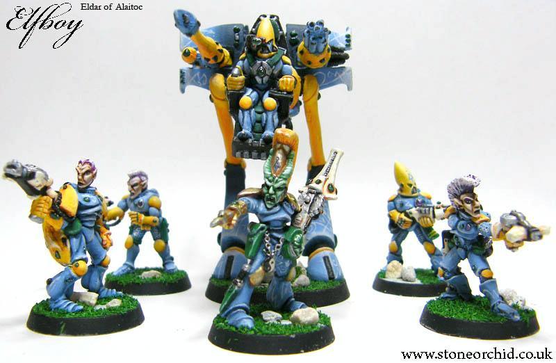 Alaitoc, Eldar, Guardians, Old, Oops, Rogue Trader, War Walker, Warhammer 40,000