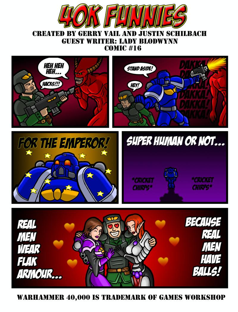 40k Funnies, Cartoon, Humor, Imperial Guard
