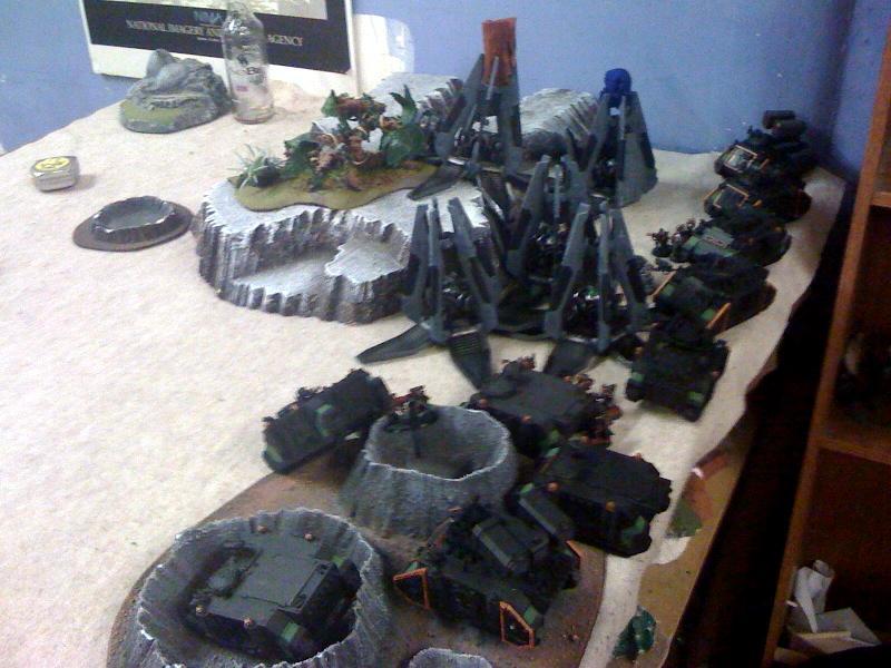 Battle Report, Drop Pod, Mech, Sisters Of Battle, Space Wolves