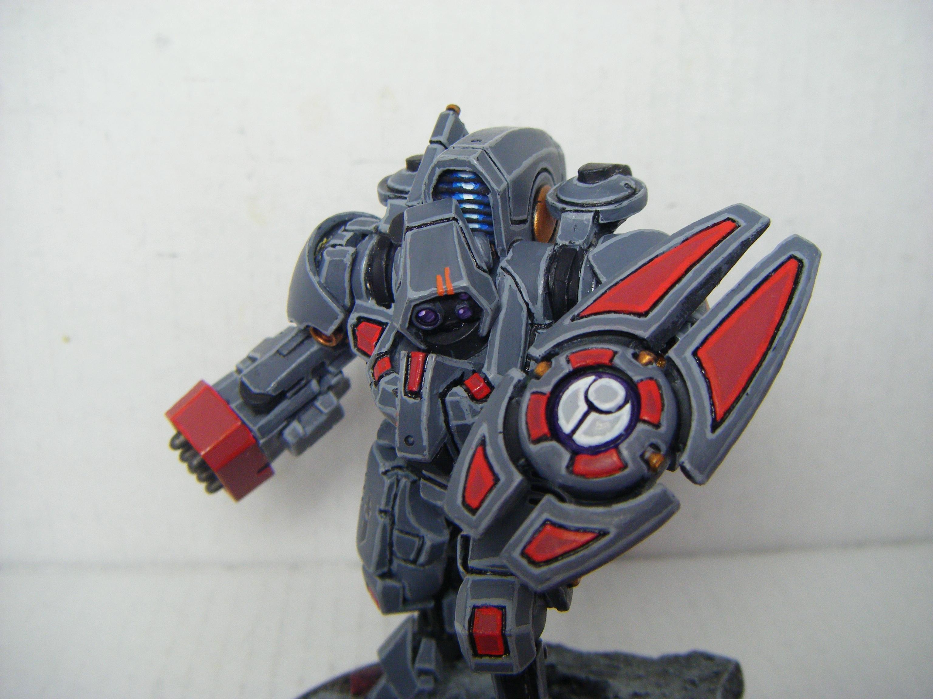 Battlesuit, Forge World, Shield, Tau