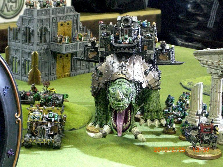 Apocalypse, Orks, Squiggoth, Warhammer 40,000