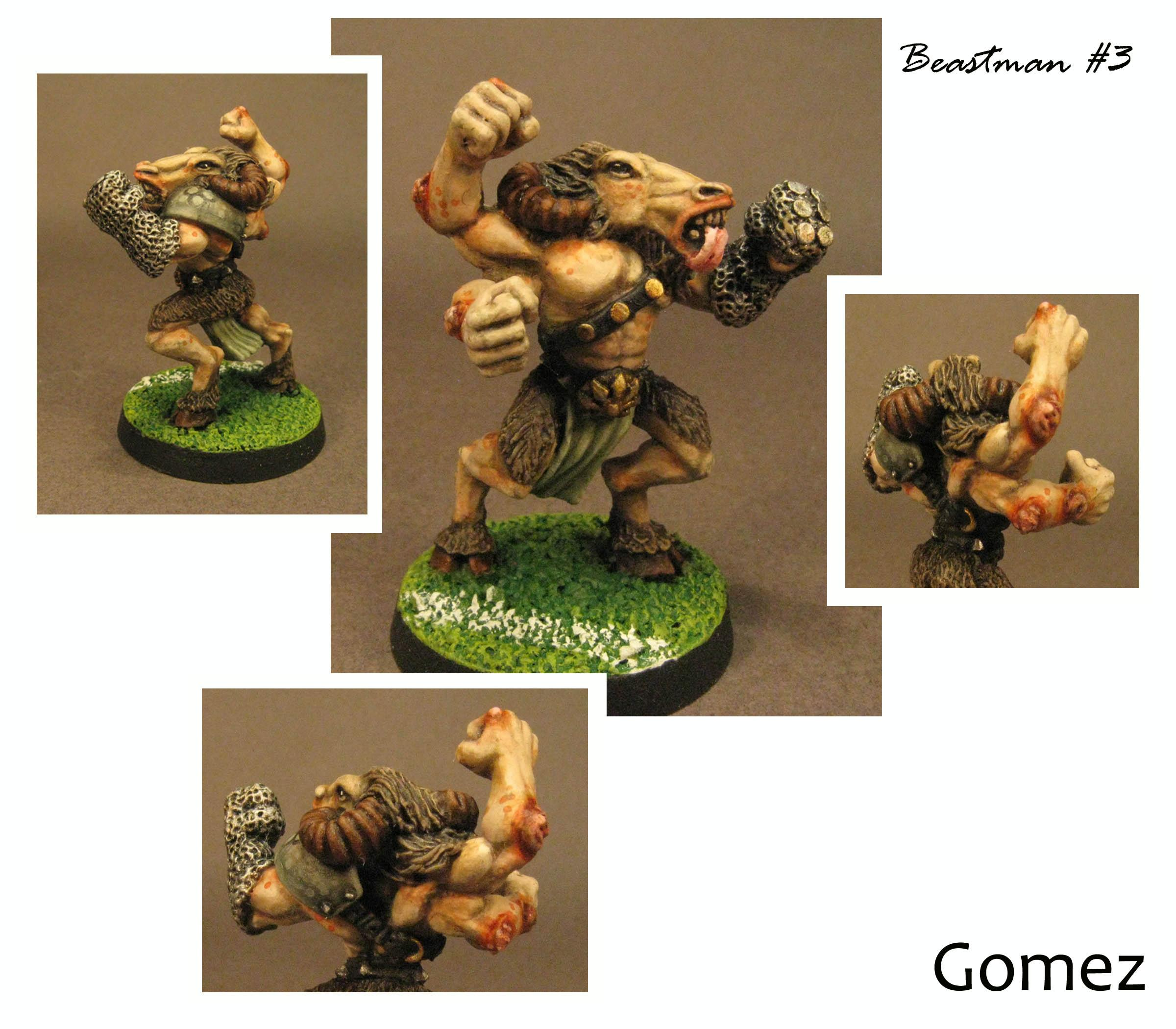 Beastmen, Blood Bowl, Chaos