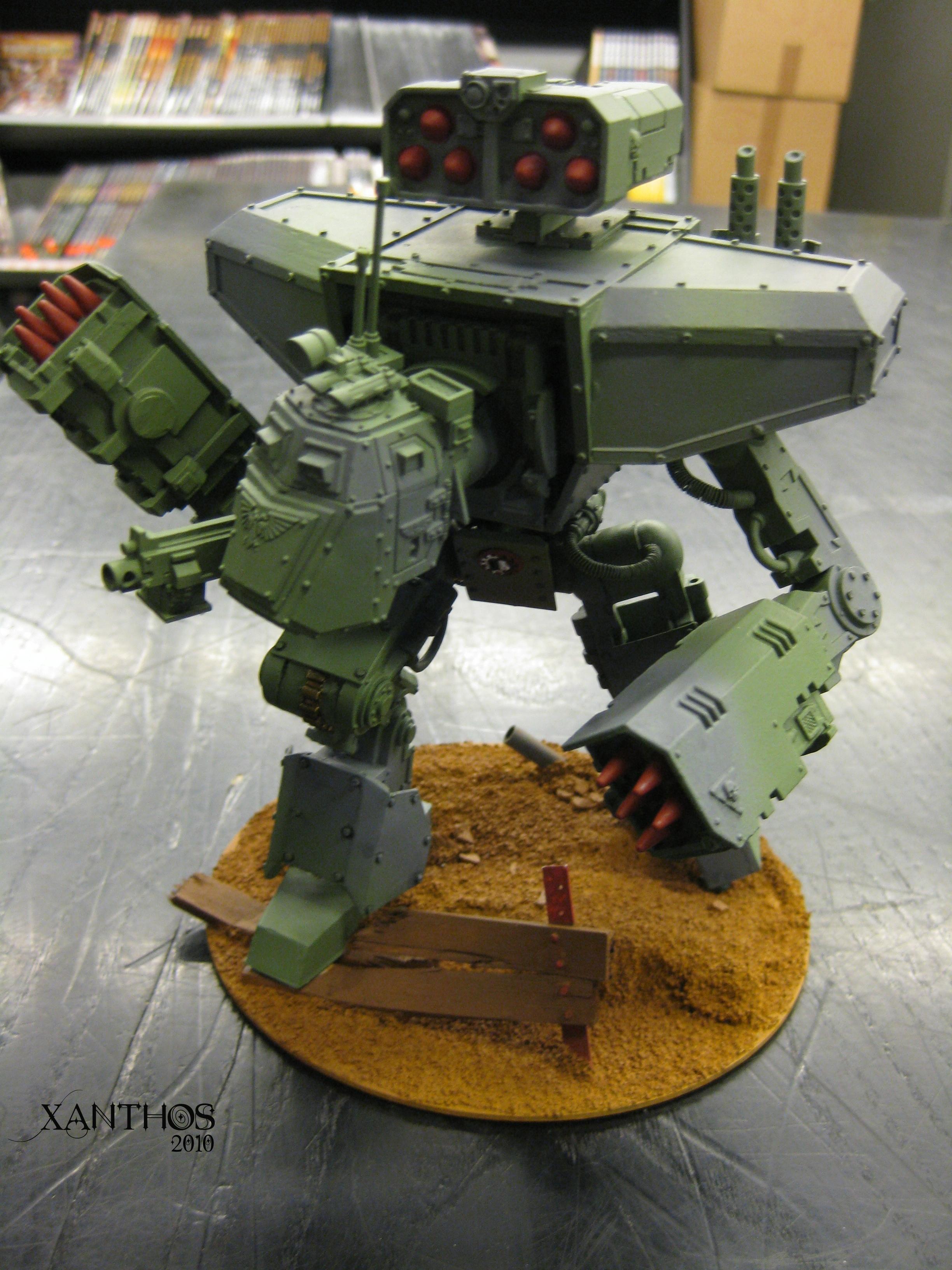 Imperial Guard, Knights, Manticore, Titan, Walker
