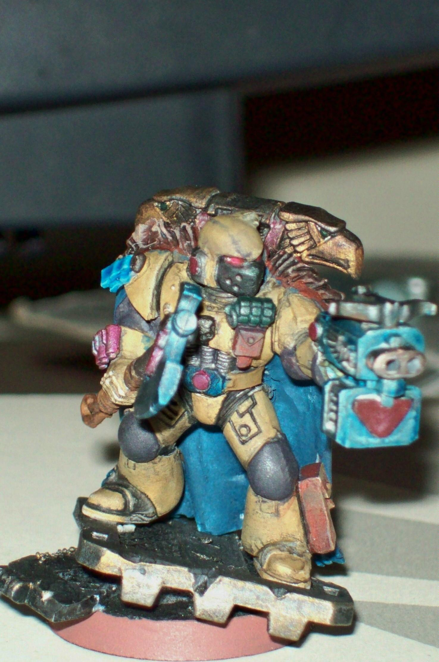 Captain, Space Marines, Storm Bolter, Warhammer 40,000