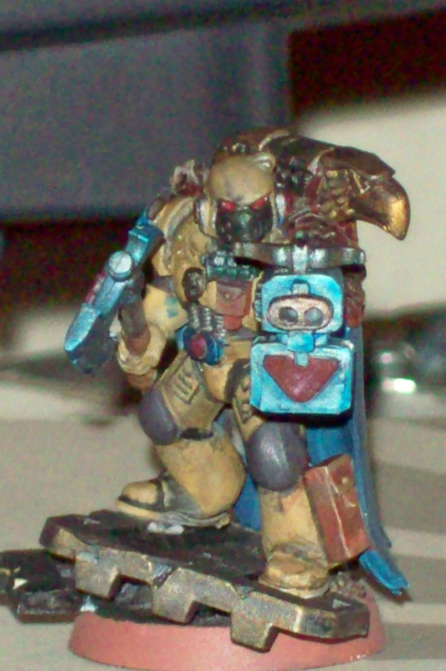 Captain, Do-it-yourself, Space Marines, Storm Bolter, Warhammer 40,000