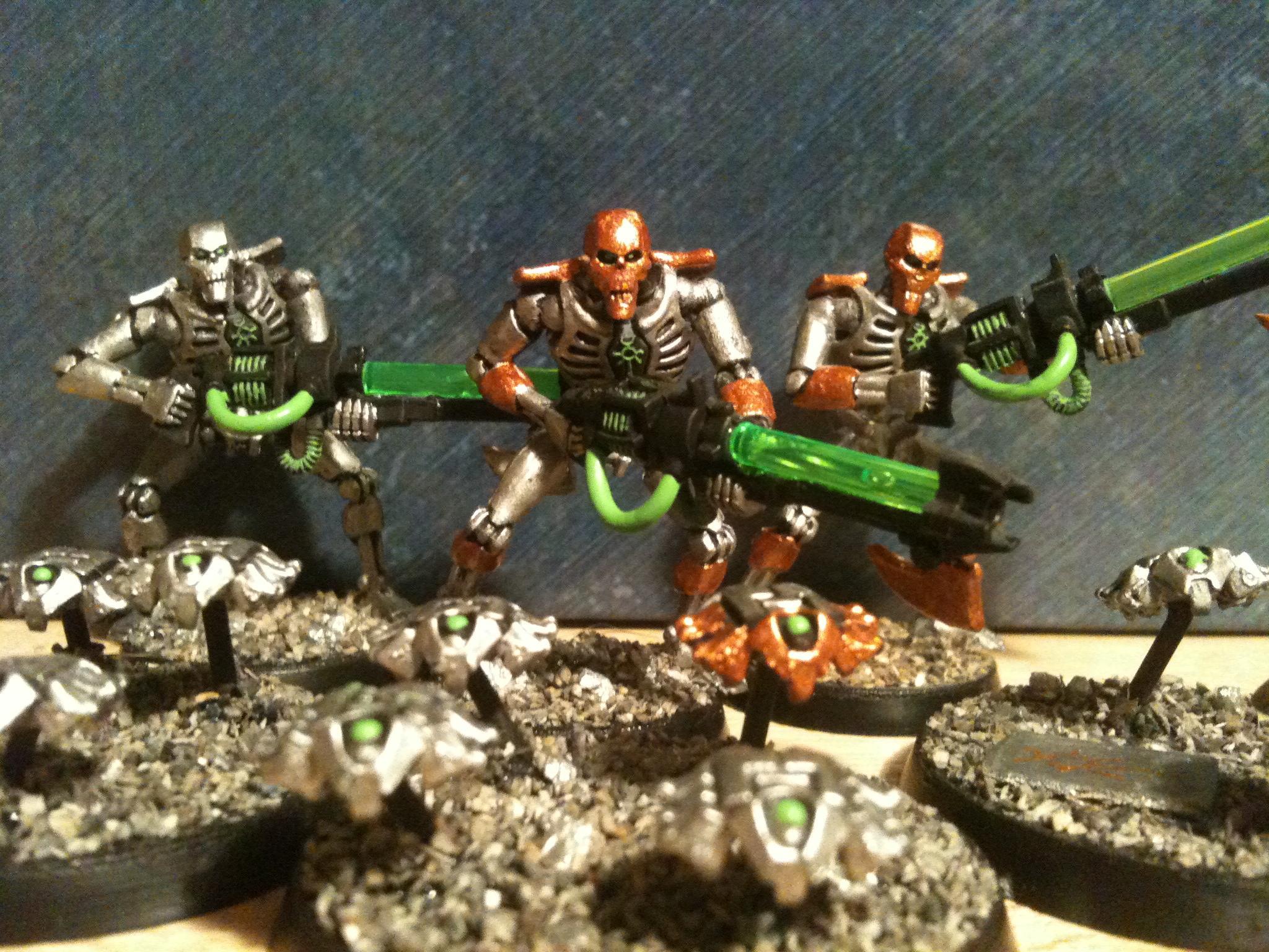 Necrons, Scarabs, Swarm, Warriors