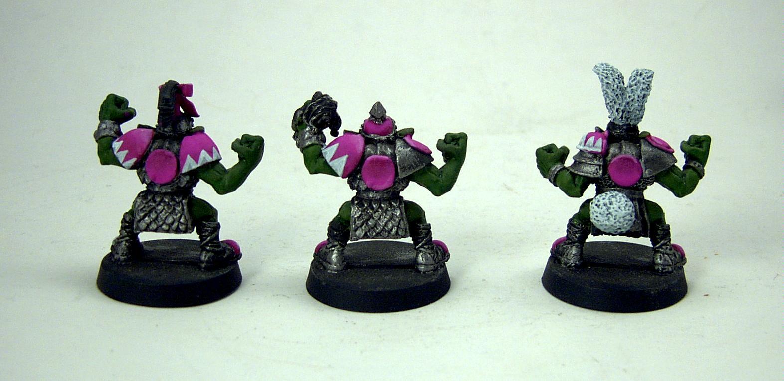 Blood Bowl, Bunny, Orcs, Orks, Pink