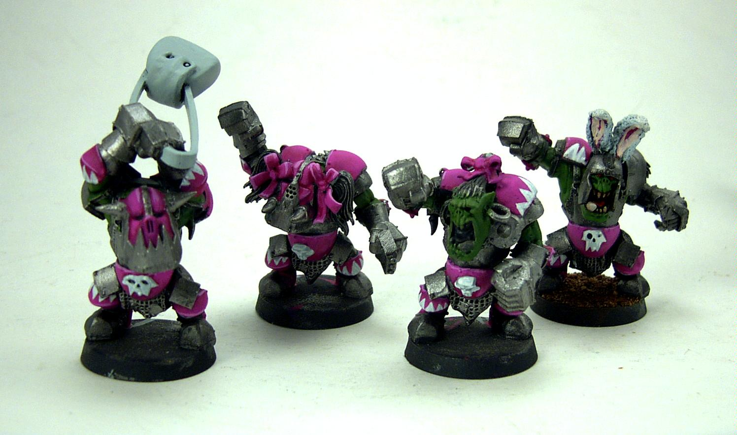 Blood Bowl, Bunny, Orcs, Pink, Purse