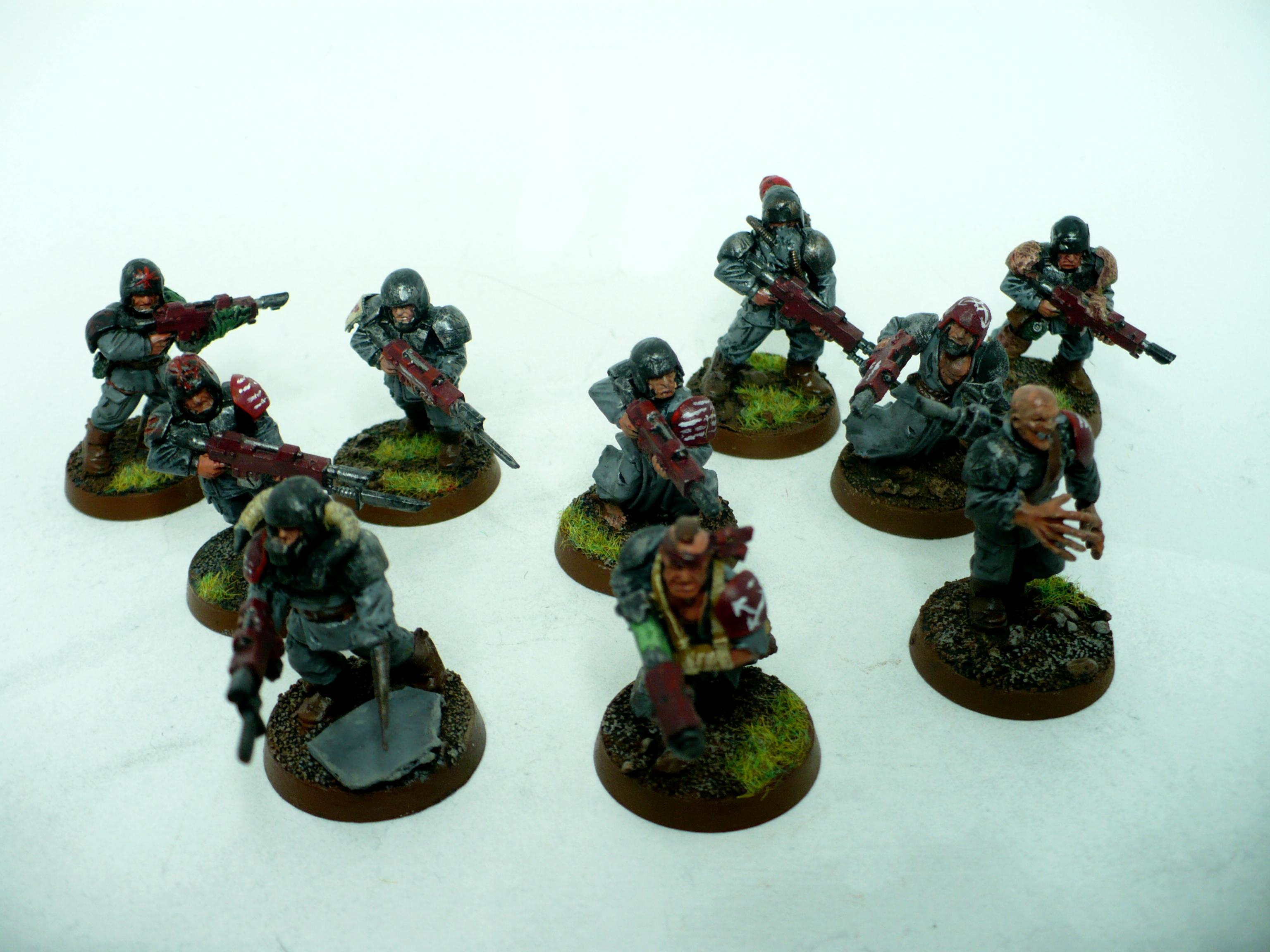 Chaos, Conversion, Guard, Renegade, Traitors, Undivided, Warhammer 40,000, Word Bearers