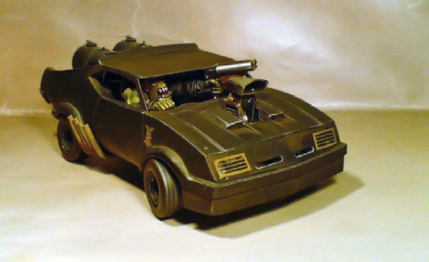 Buggy, Mad Max, Orks, Scratch Build