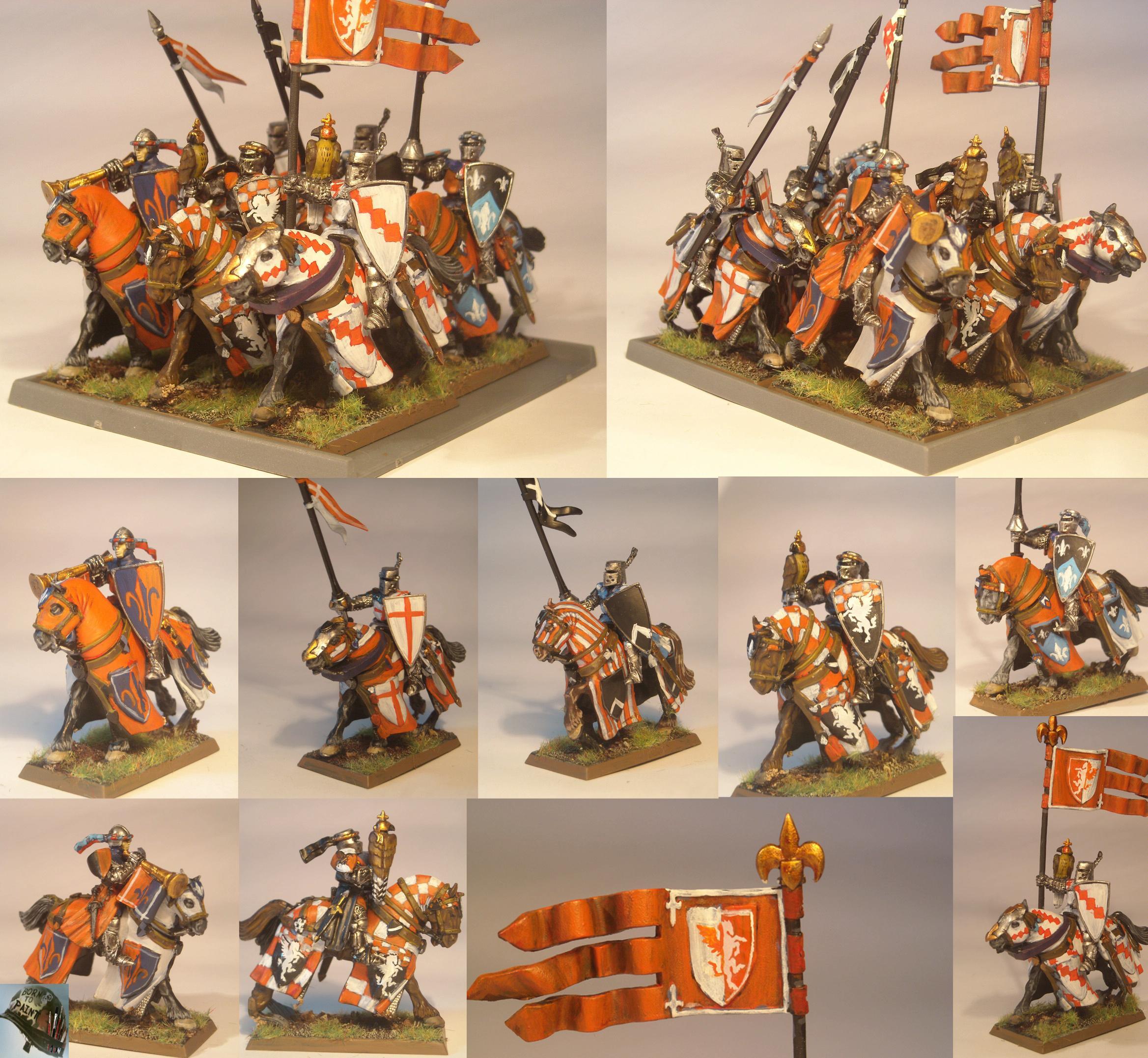 Bretonnians, Knights, Warhammer Fantasy