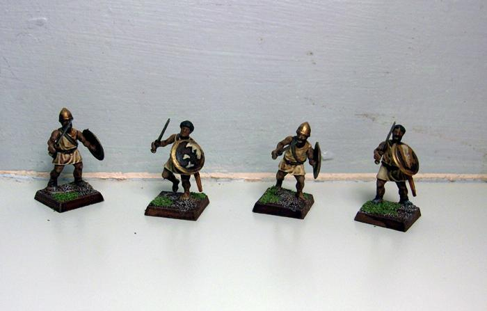 Dipped, Light Infantry, Numidians, Wargames Factory, Warhammer Fantasy