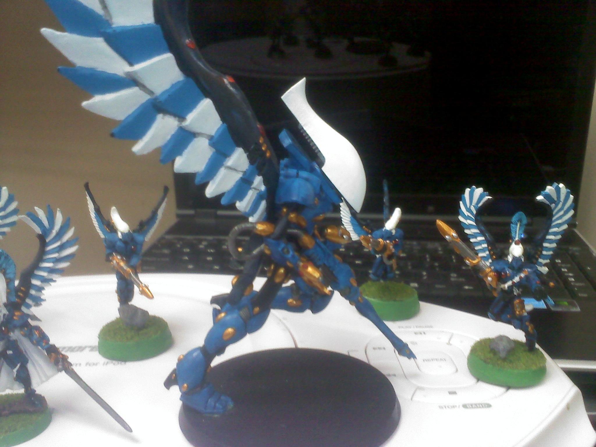 Eldar, Swooping Hawks, Wraithlord