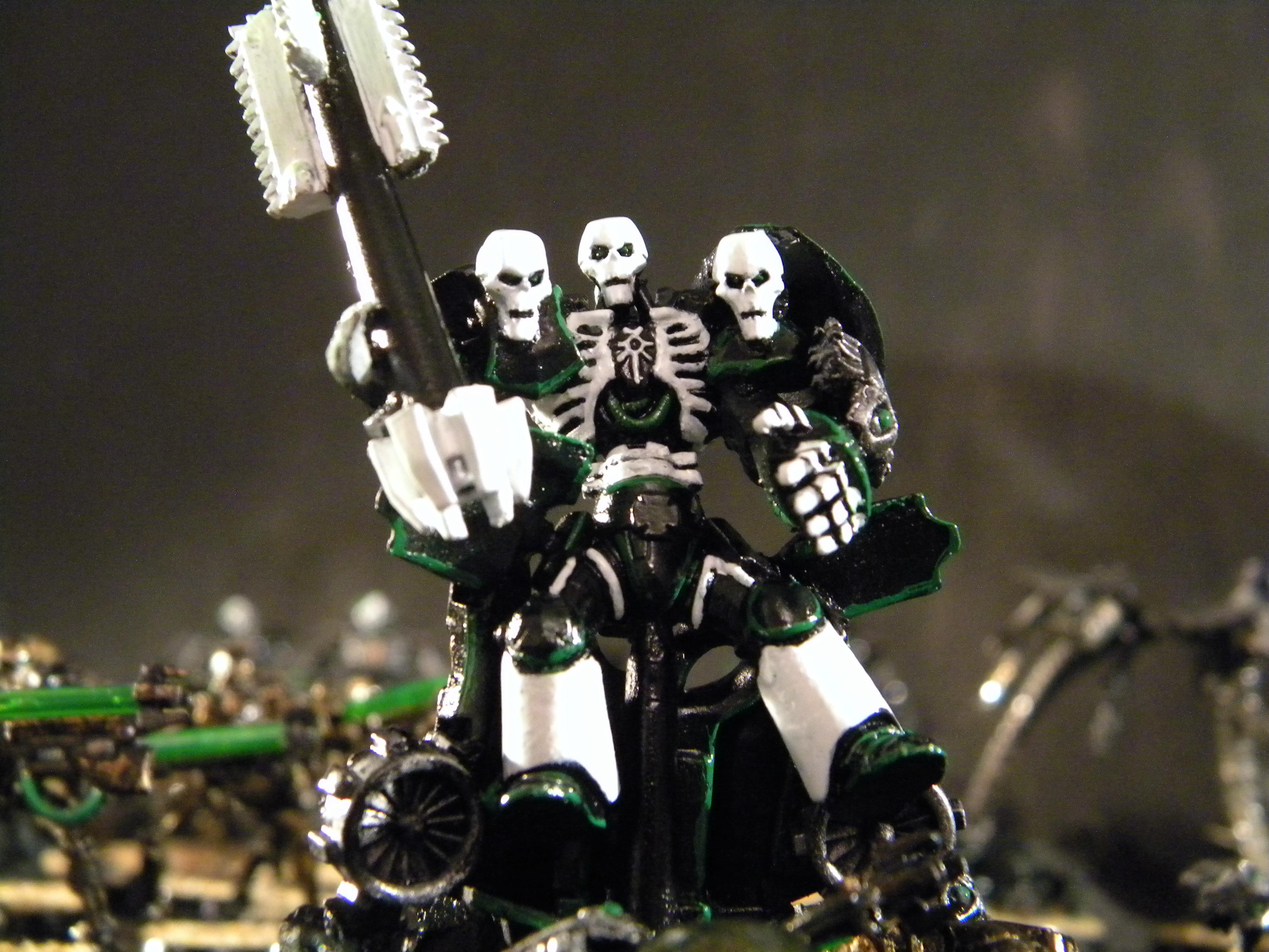 Destroyer Lord, Gothic, Necrons, Tri Headed