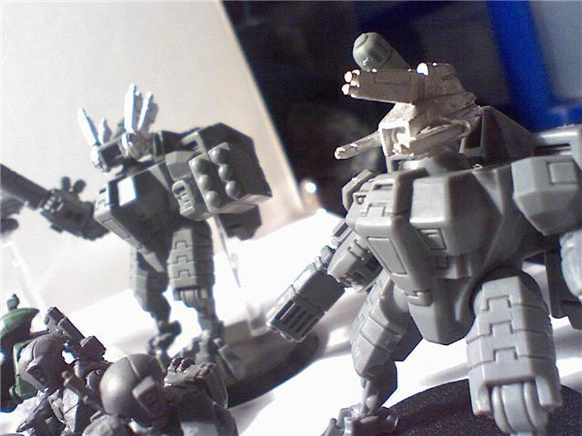 Battlesuit, Fire Warriors, Tau