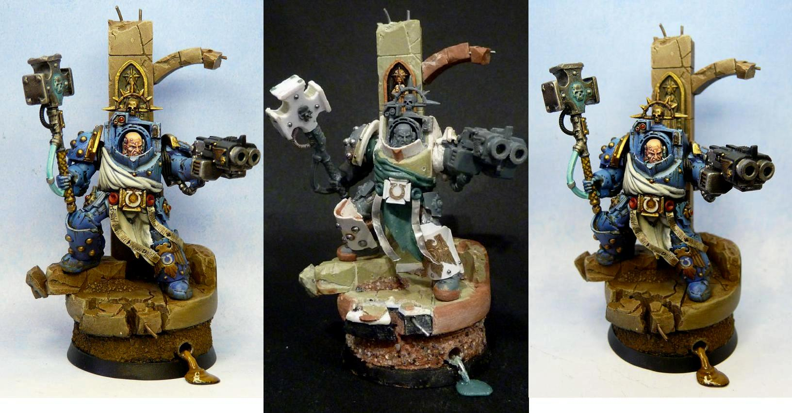 Conversion, Terminator Armor, Ultramarines, Warhammer 40,000