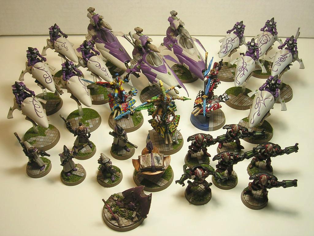 Army, Eldar, Harlequins, Jetbike, Rangers, Vyper, Warhammer 40,000, Warp Spider