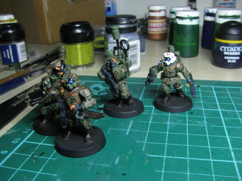 Command Squad, Conversion, Guard, Pig Iron