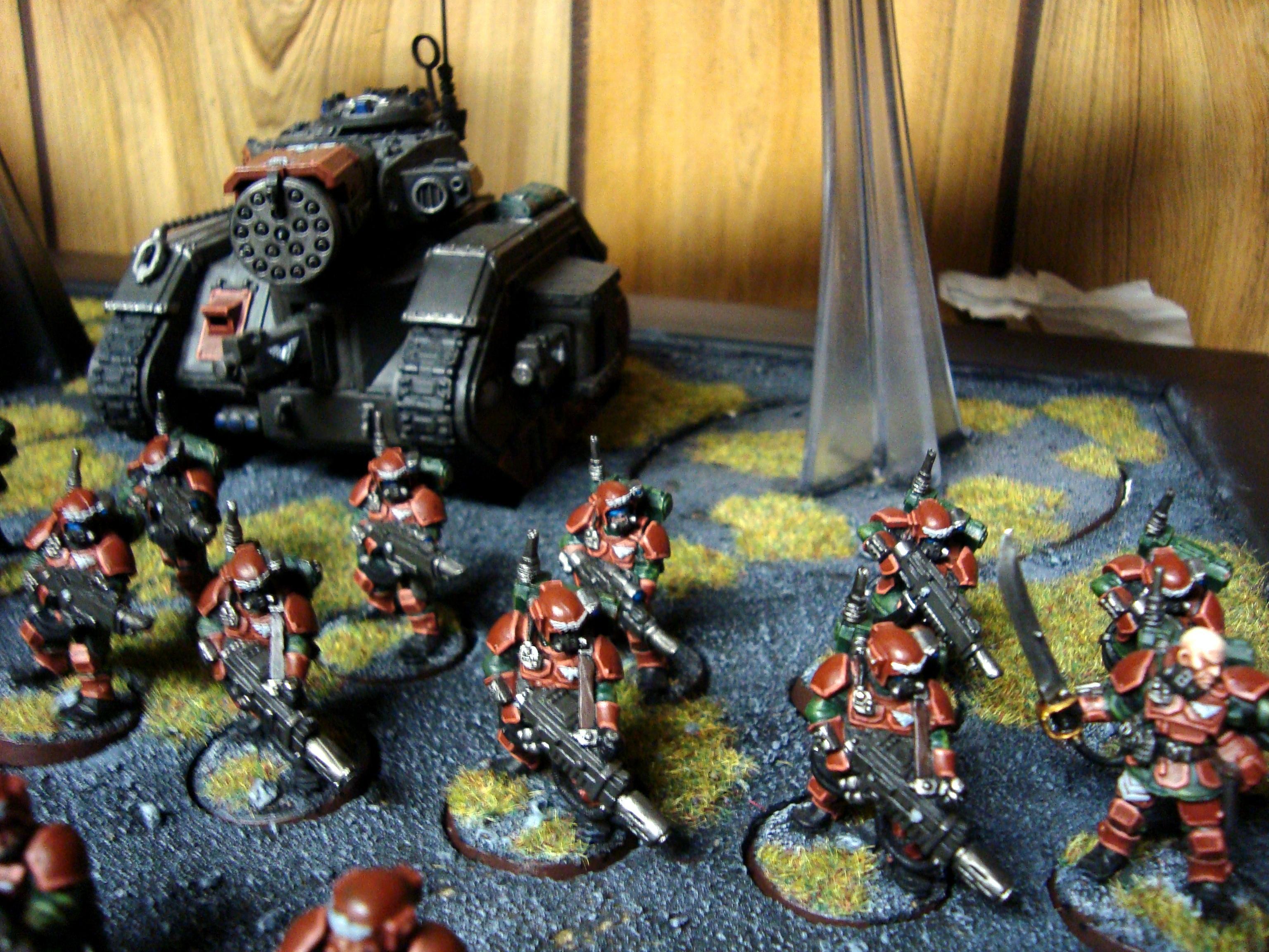 Imperial Guard, some Karskin Vets
