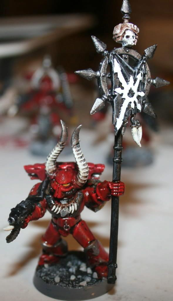 Chaos, Chaos Space Marines, Icon, Word Bearers