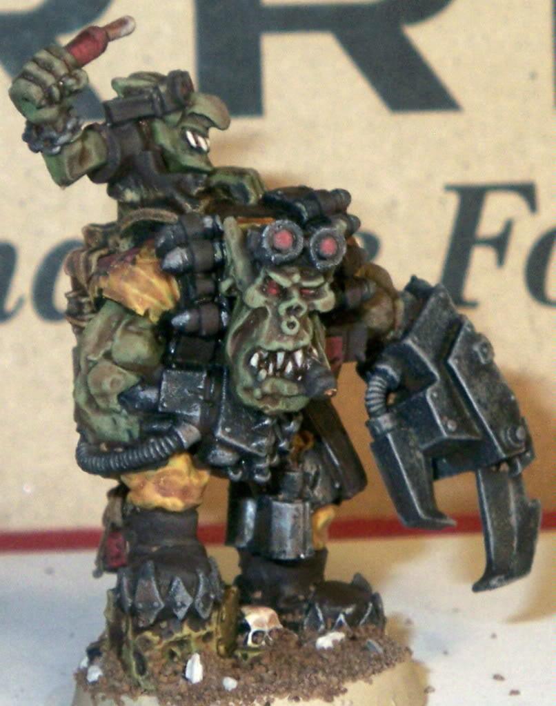 Kommando, Nob, Orks, Kommando Nob front