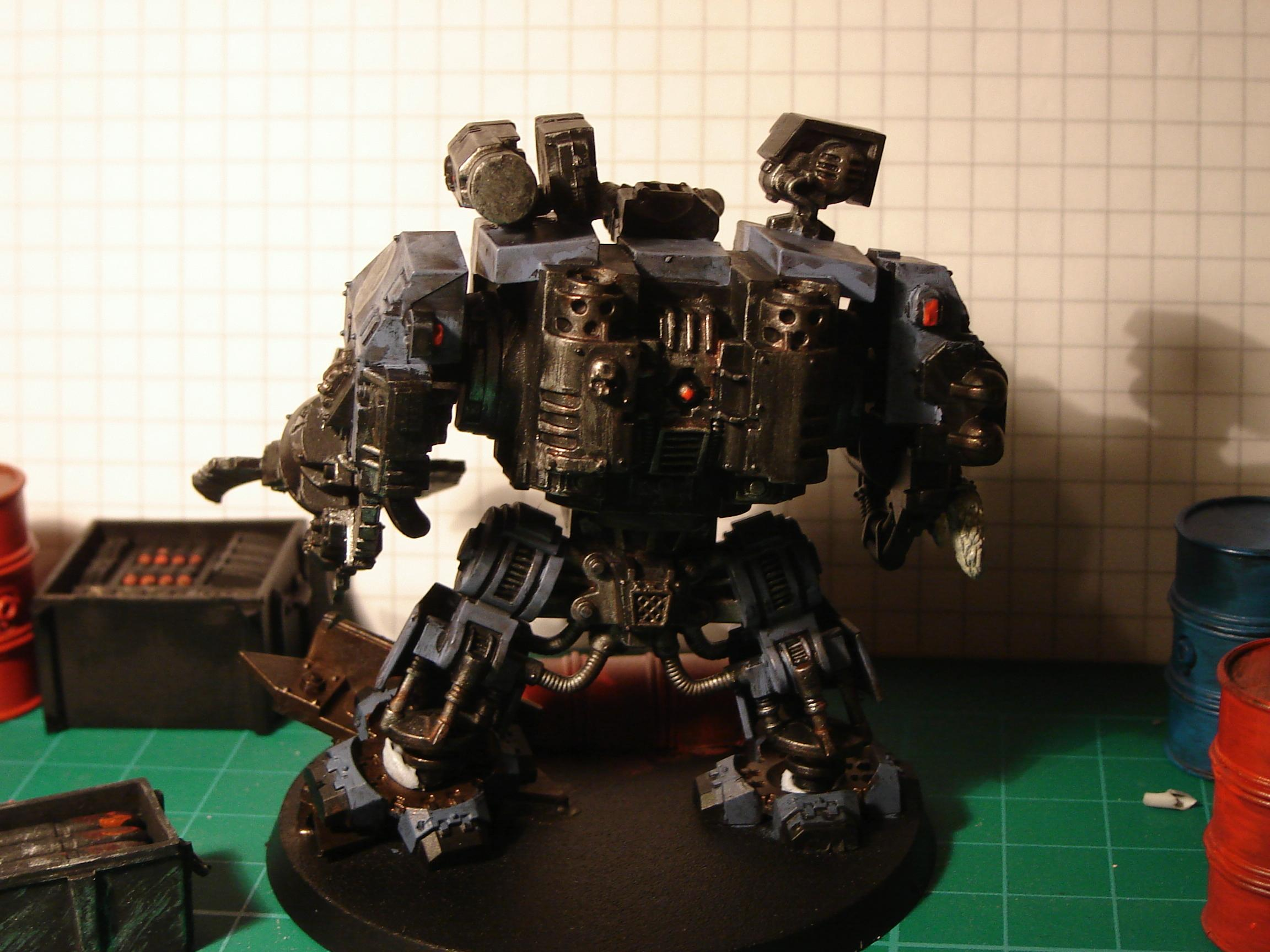 Conversion, Dreadnought, Space Marines, Space Wolves, Warhammer 40,000