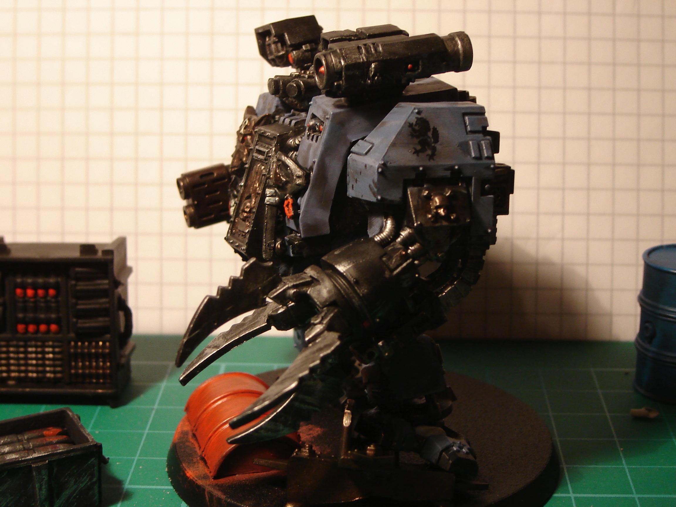 Dreadnought, Furioso, Space Marines