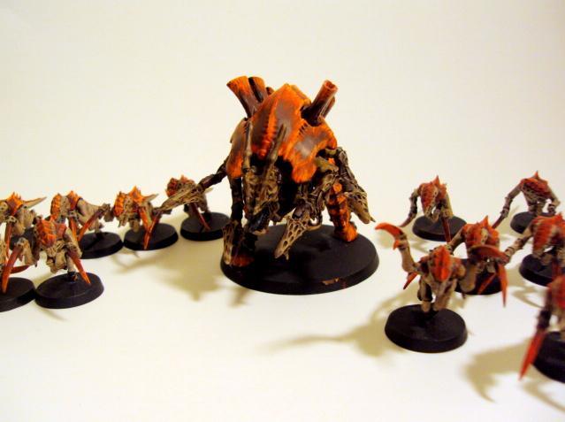 Carnifex, Hormagaunts, Tyranids, Warhammer 40,000