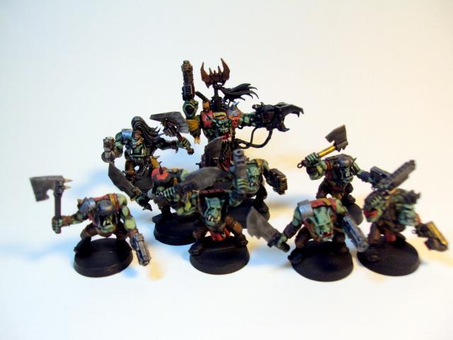 Ork Boyz, Orks, Warboss, Warhammer 40,000