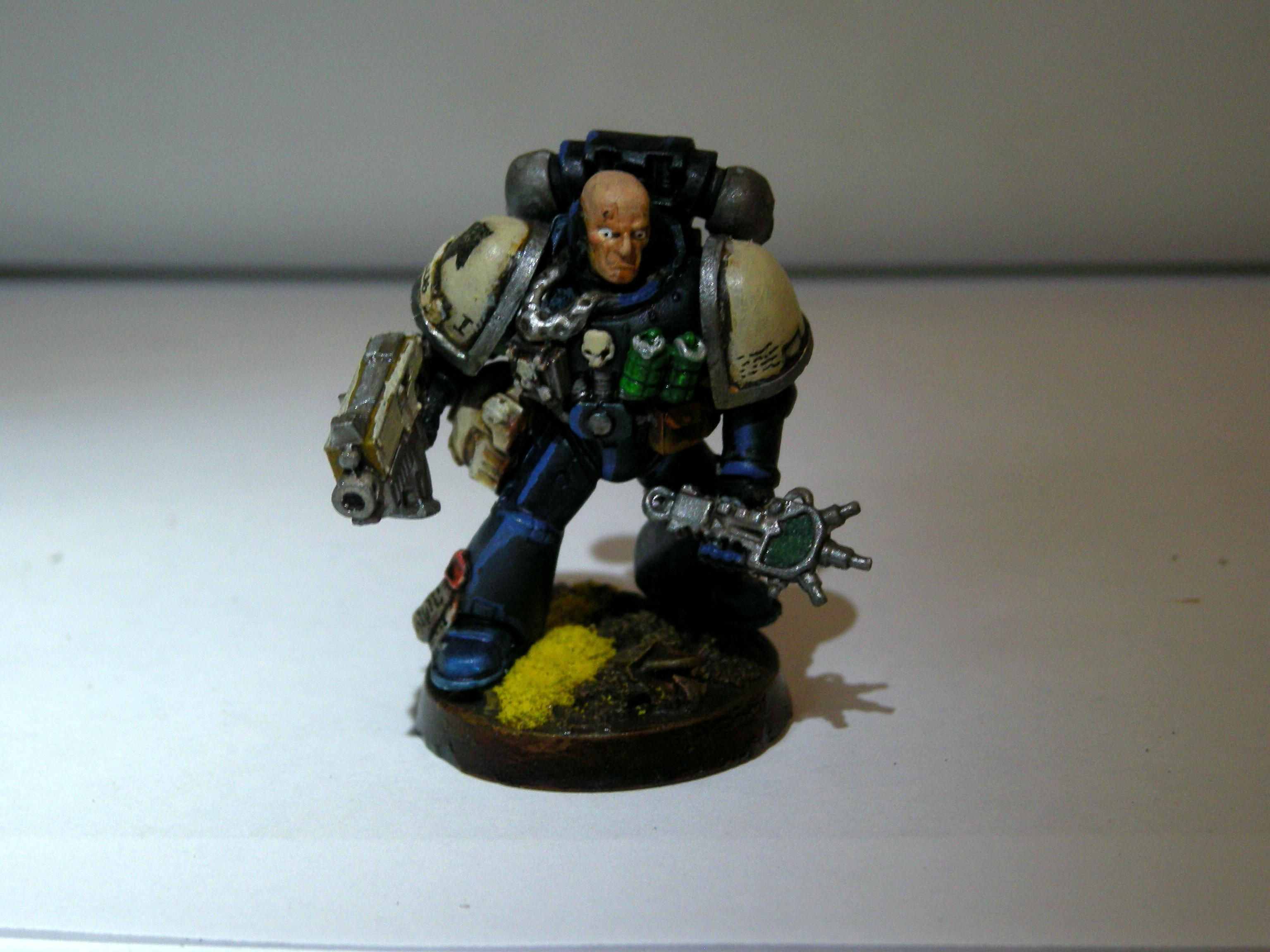 Auspex, Marine Sergeant