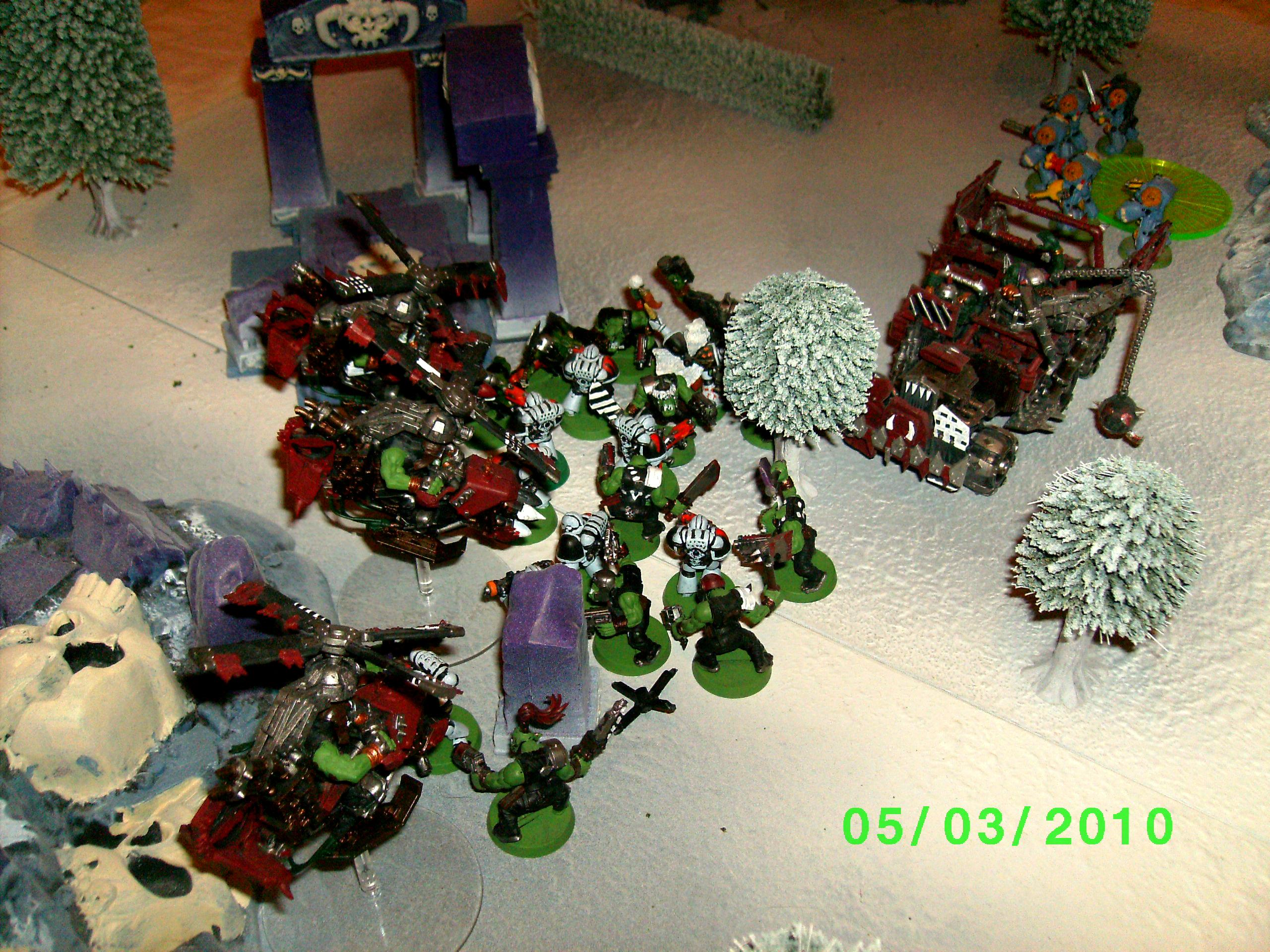 Battle Report, Orks, Space Marines