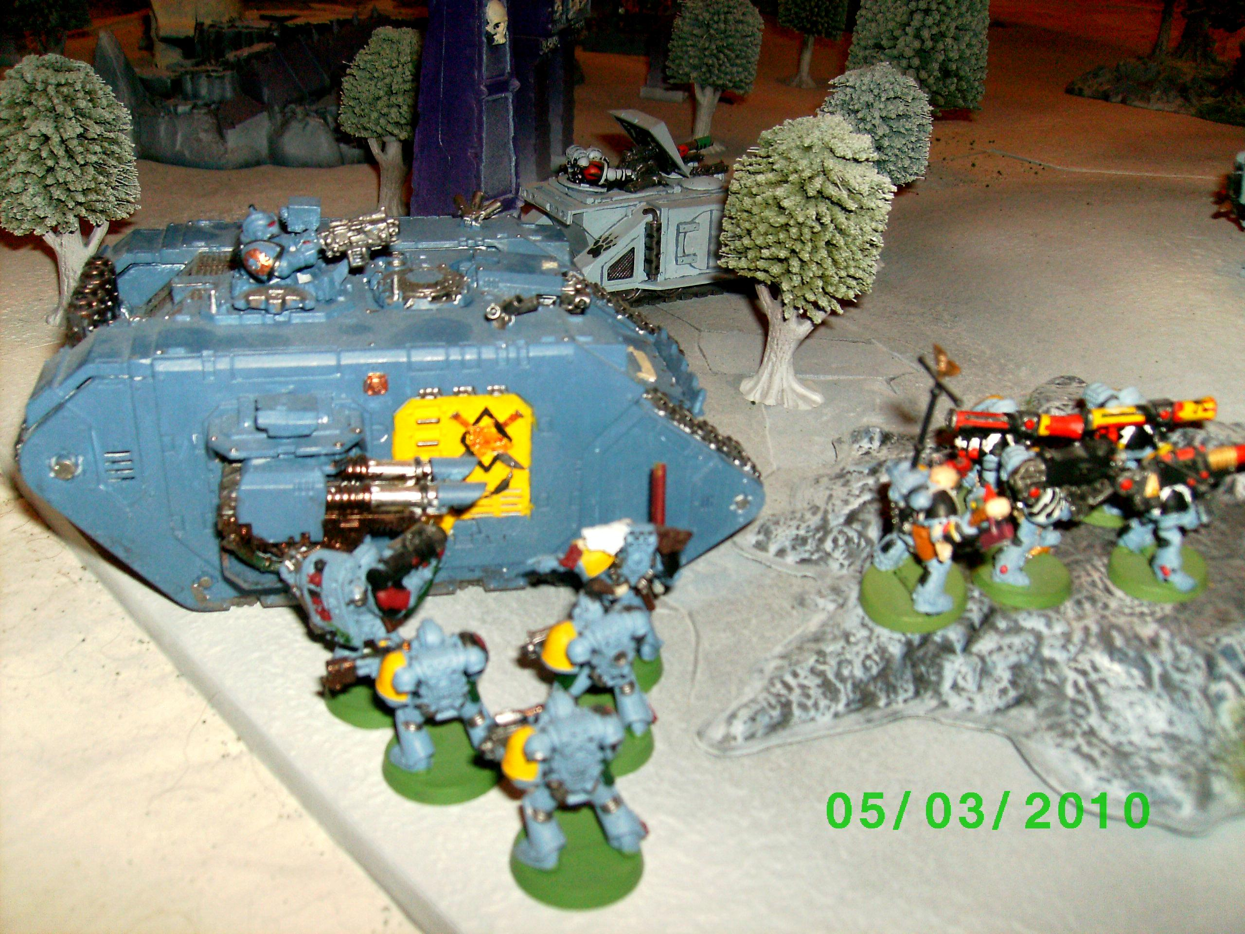 Space Marines, Space Wolves, Terrain