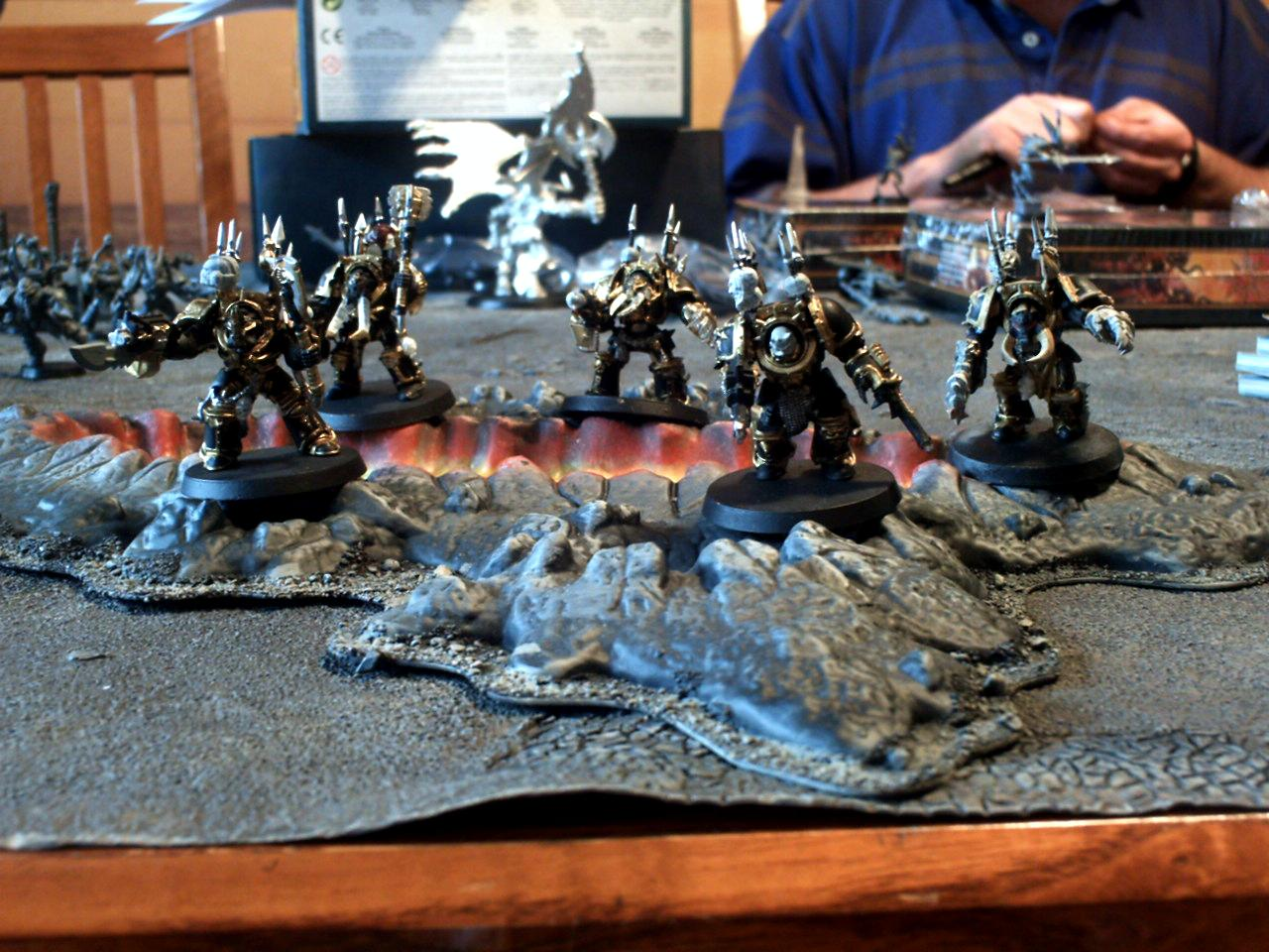 Chaos, Painted, Terminator Armor