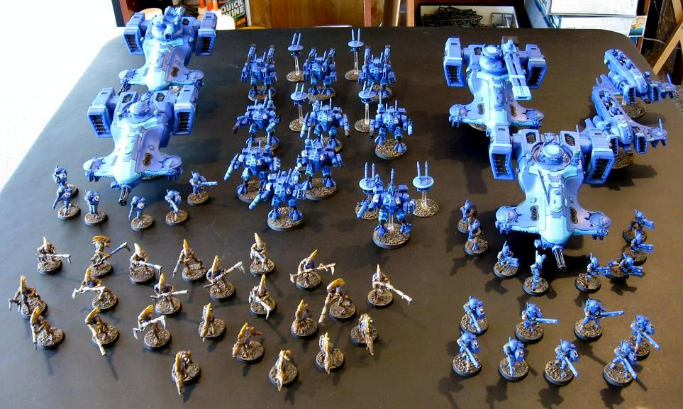 Tau, Lorek's Tau Army