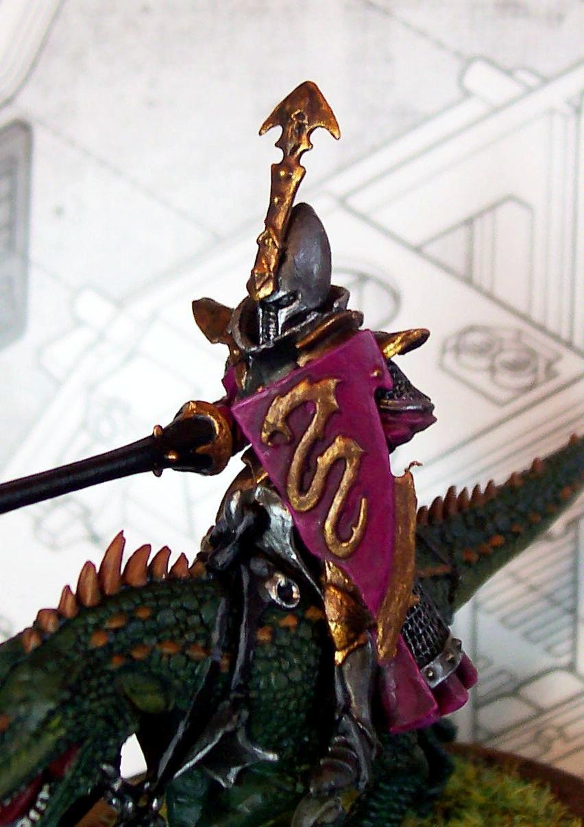Cold One, Dark Elves, Warhammer Fantasy