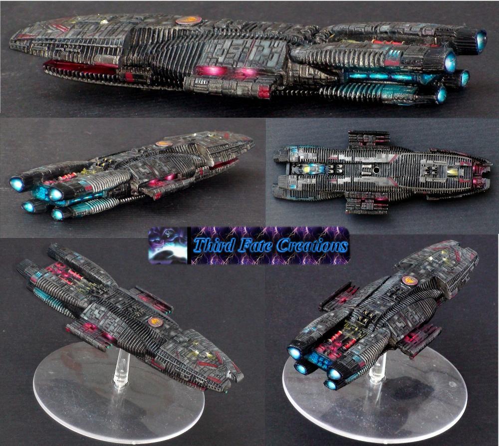 Battlefleet Gothic, Battlestar Galactica, Galactica, Space Ship