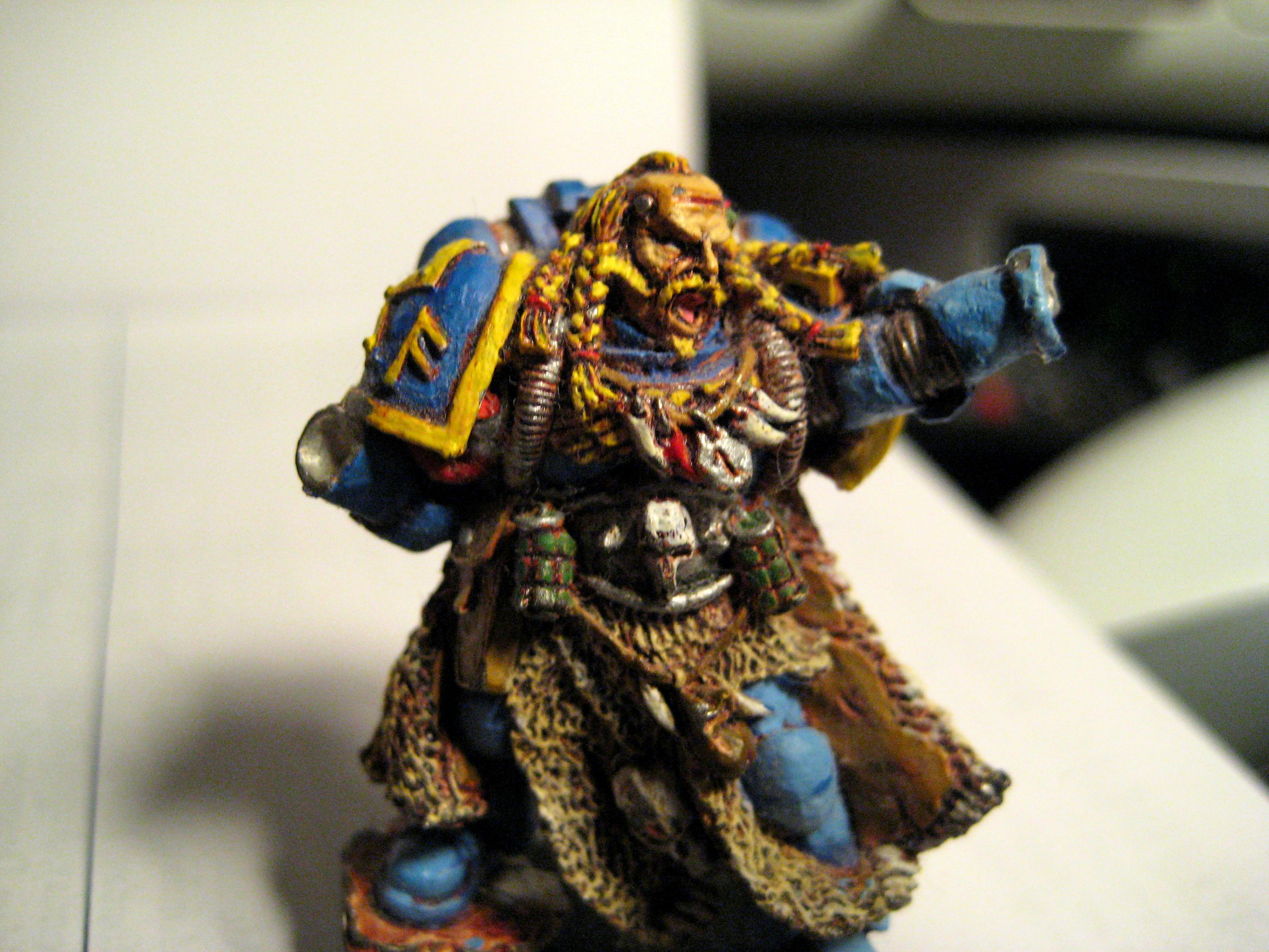 First, Painting, Space Marines, Wolves