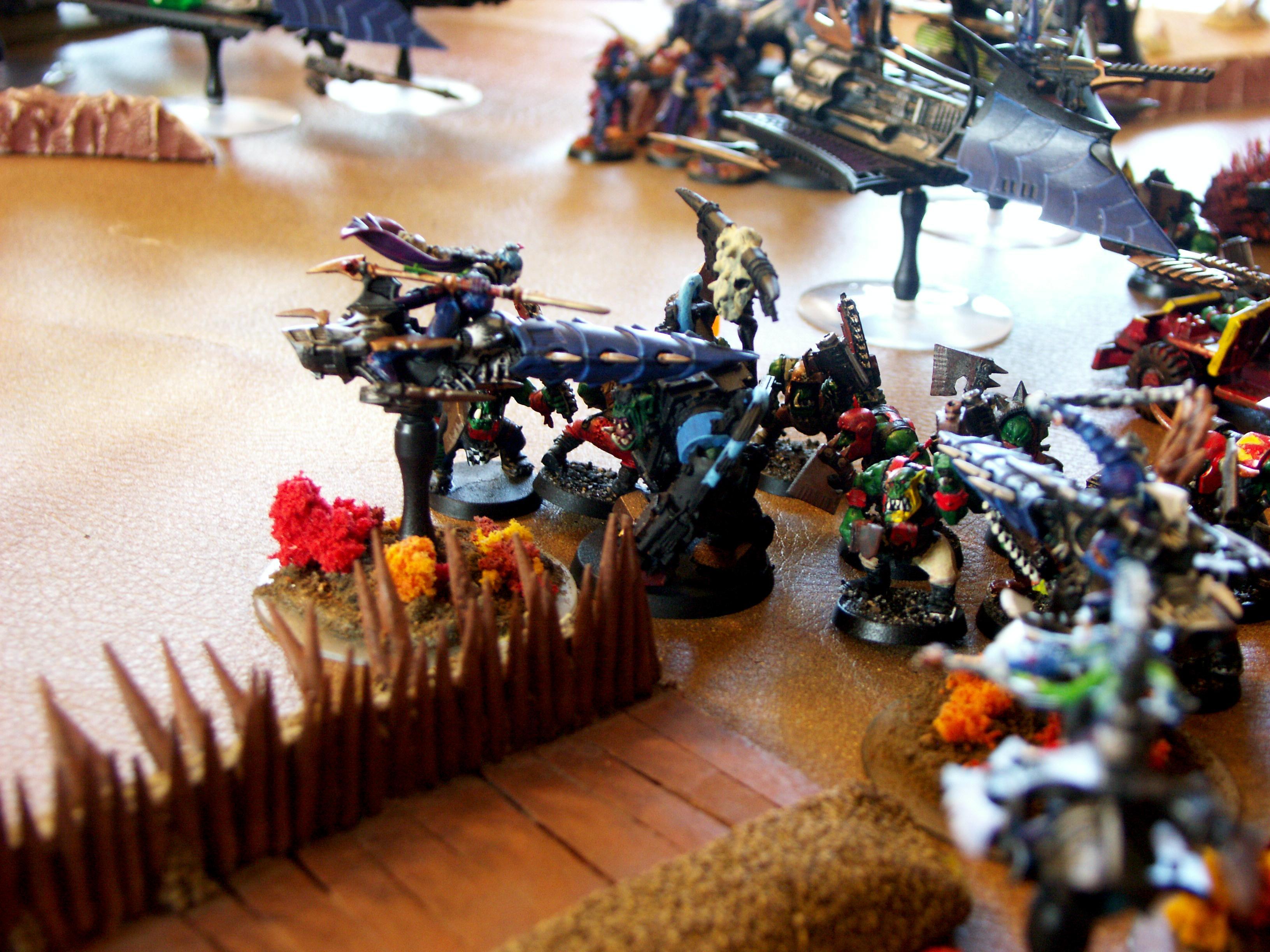 Battle Report, Dark Eldar, De, Orks, Warhammer 40,000