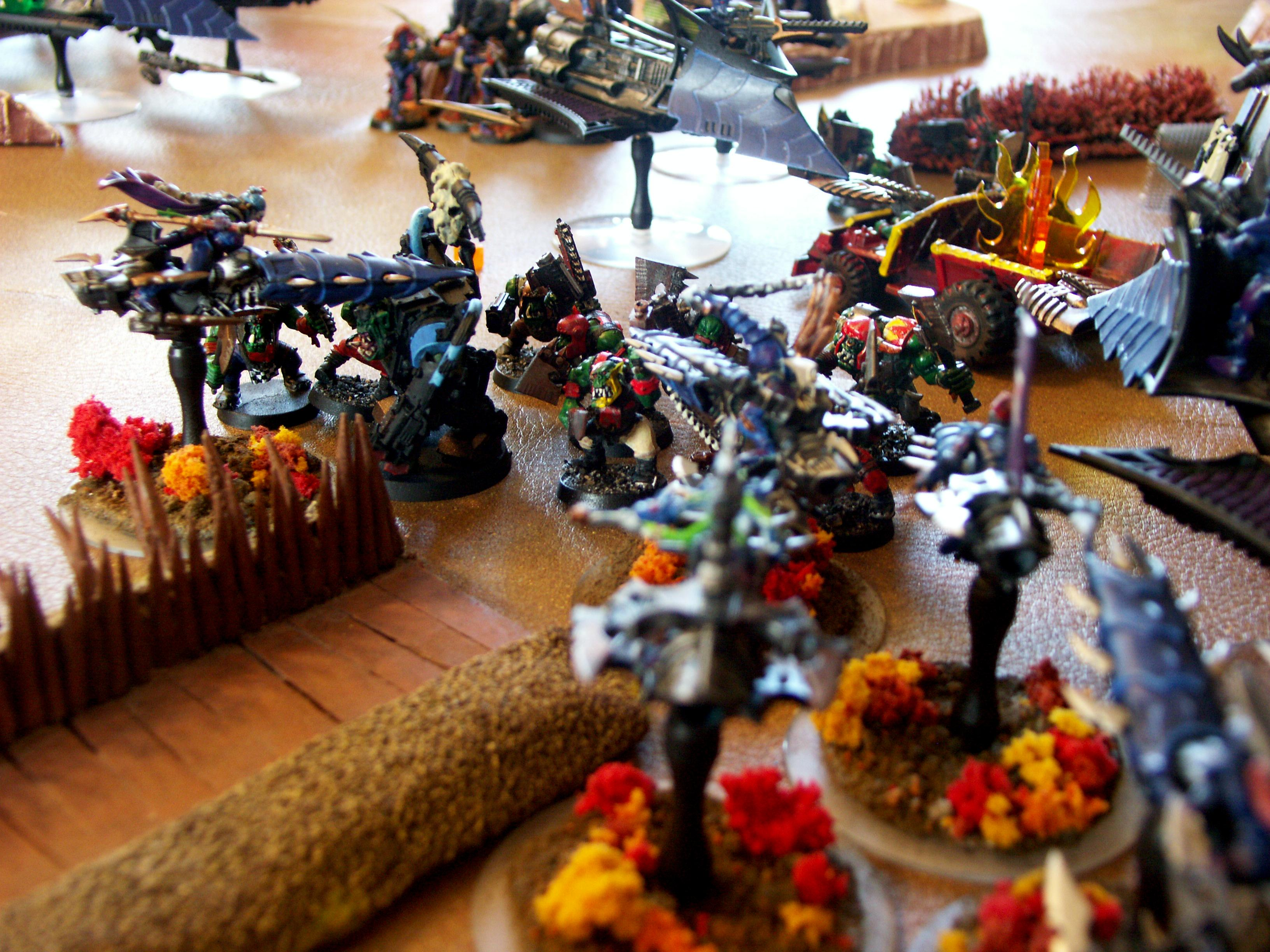 Battle Report, Dark Eldar, De, Orks, Warhammer 40,000