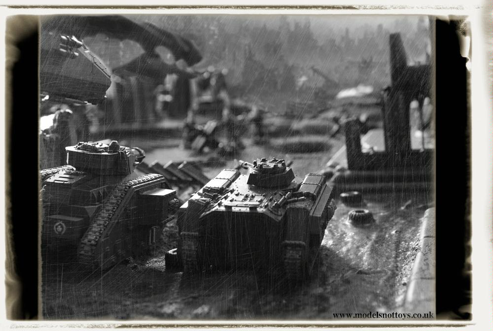 Black And White, Chimera, Imperial Guard, Leman Russ, Real Photo