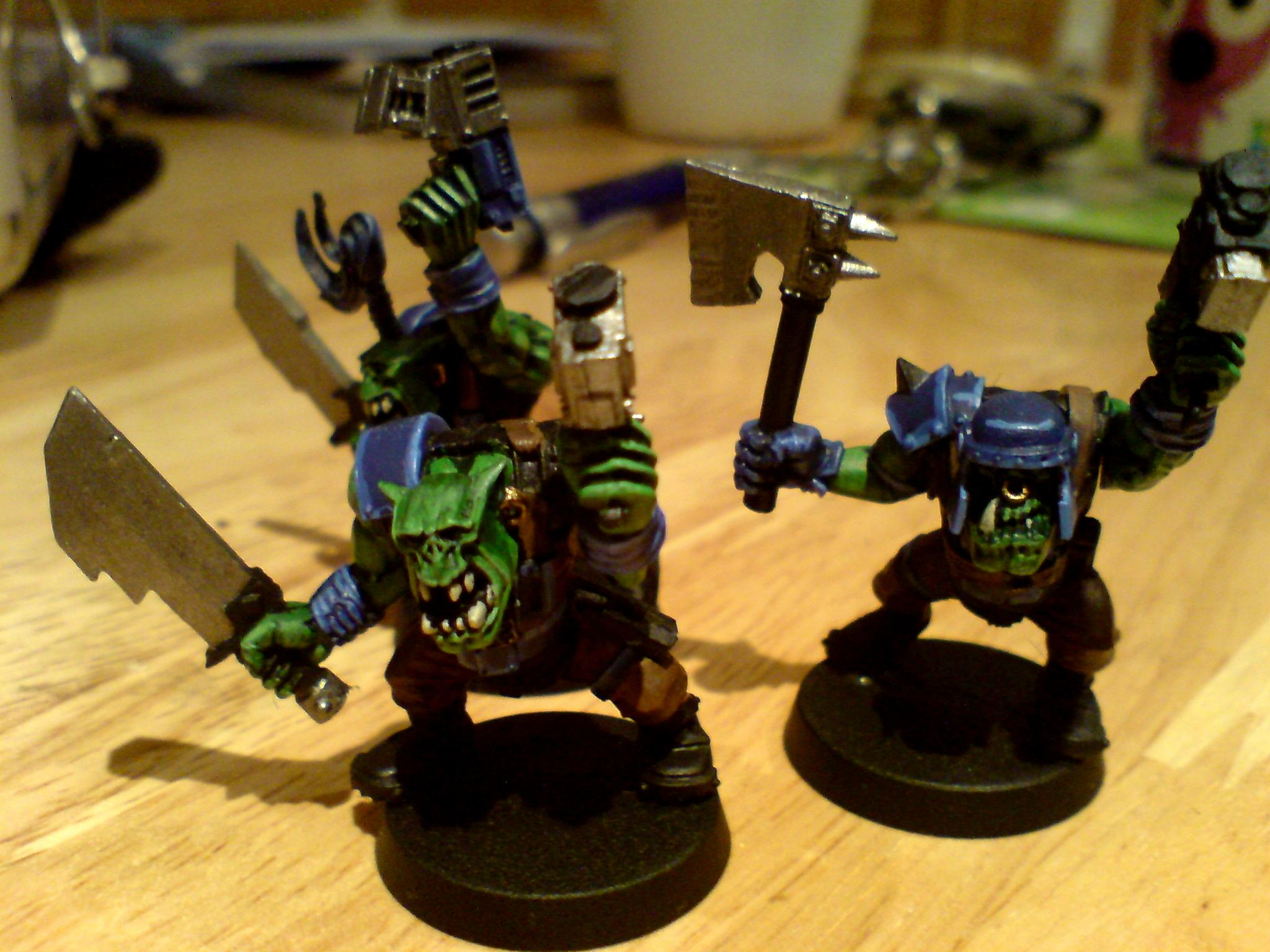 Orks, Ork choppa boys