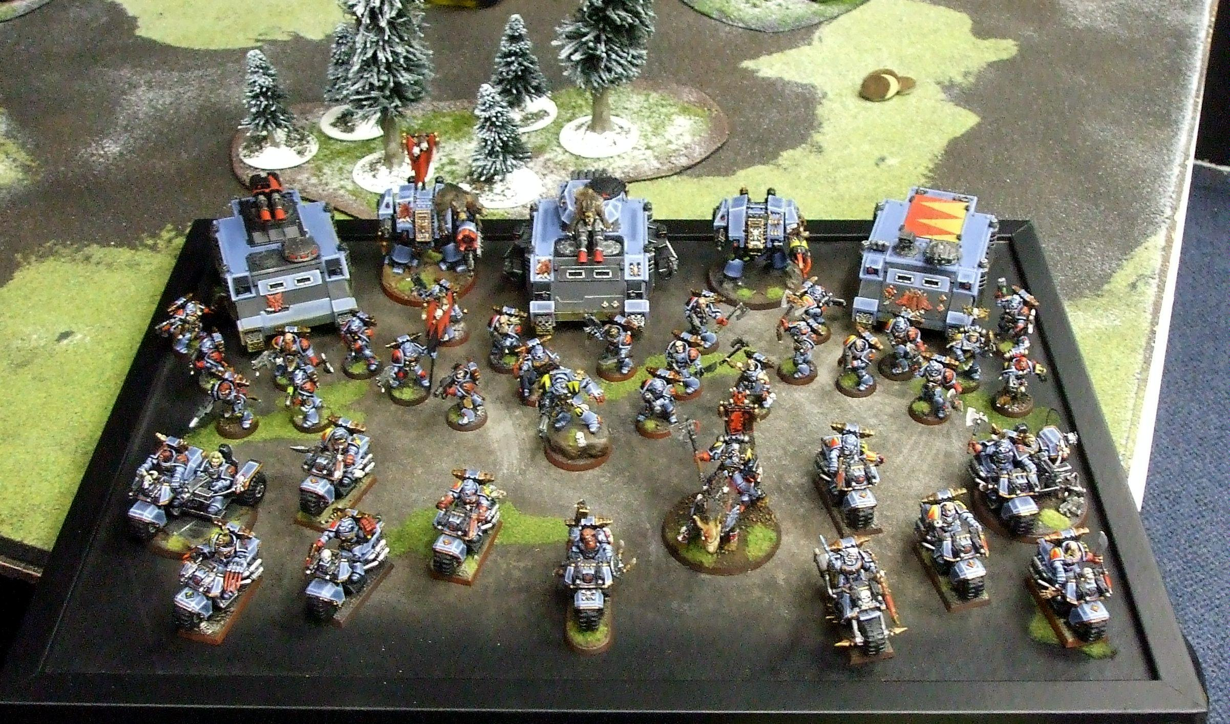 Army, Grand Tournament, Space Wolves, St Valentines Day Massacre