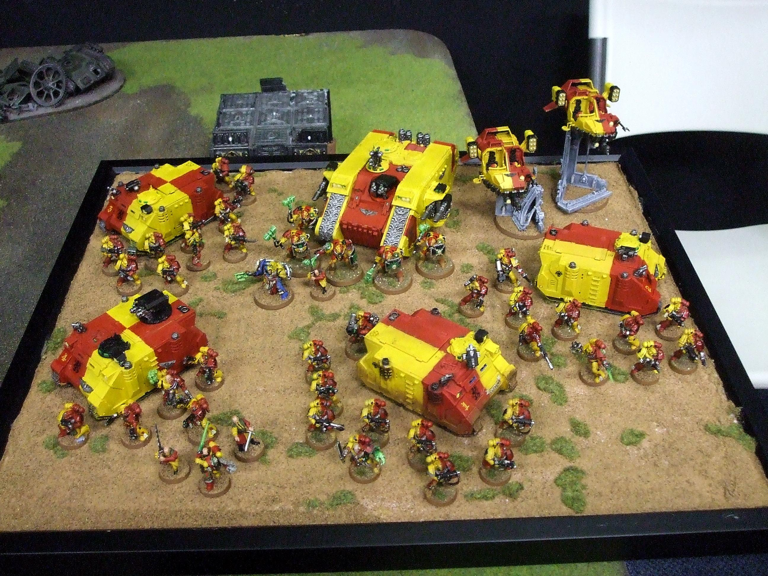 Grand Tournament, Howling Griffons, Space Marines, St Valentines Day Massacre