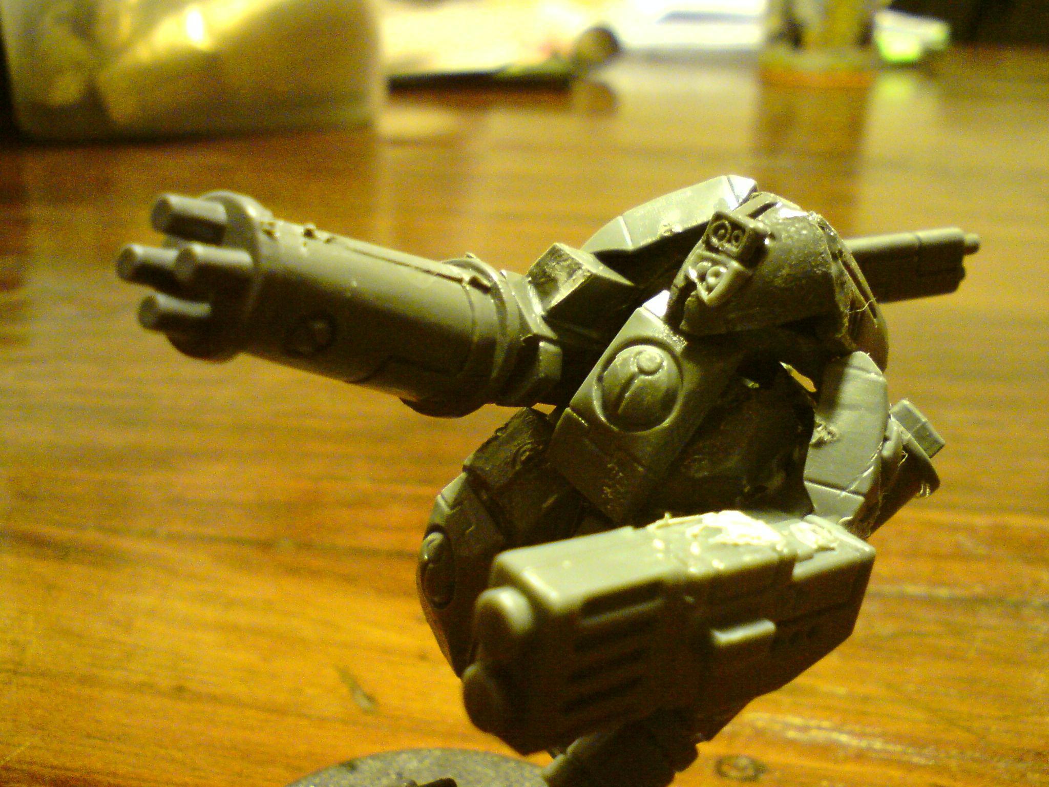 Burst Cannon, Stealth Suit, Suit, Tau, Xv