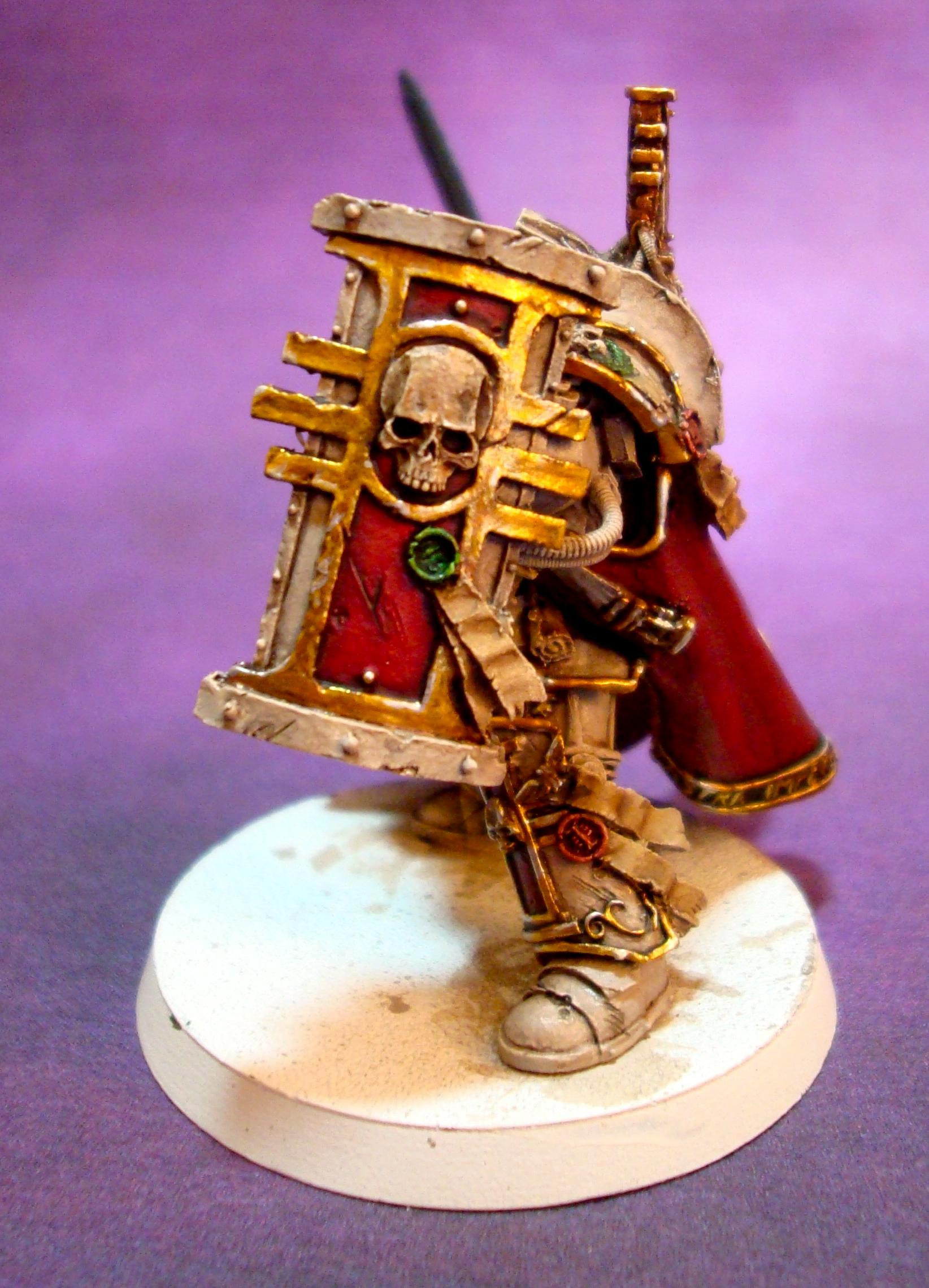 Bone, Cape, Gold, Inquisition, Power Armour, Warhammer 40,000