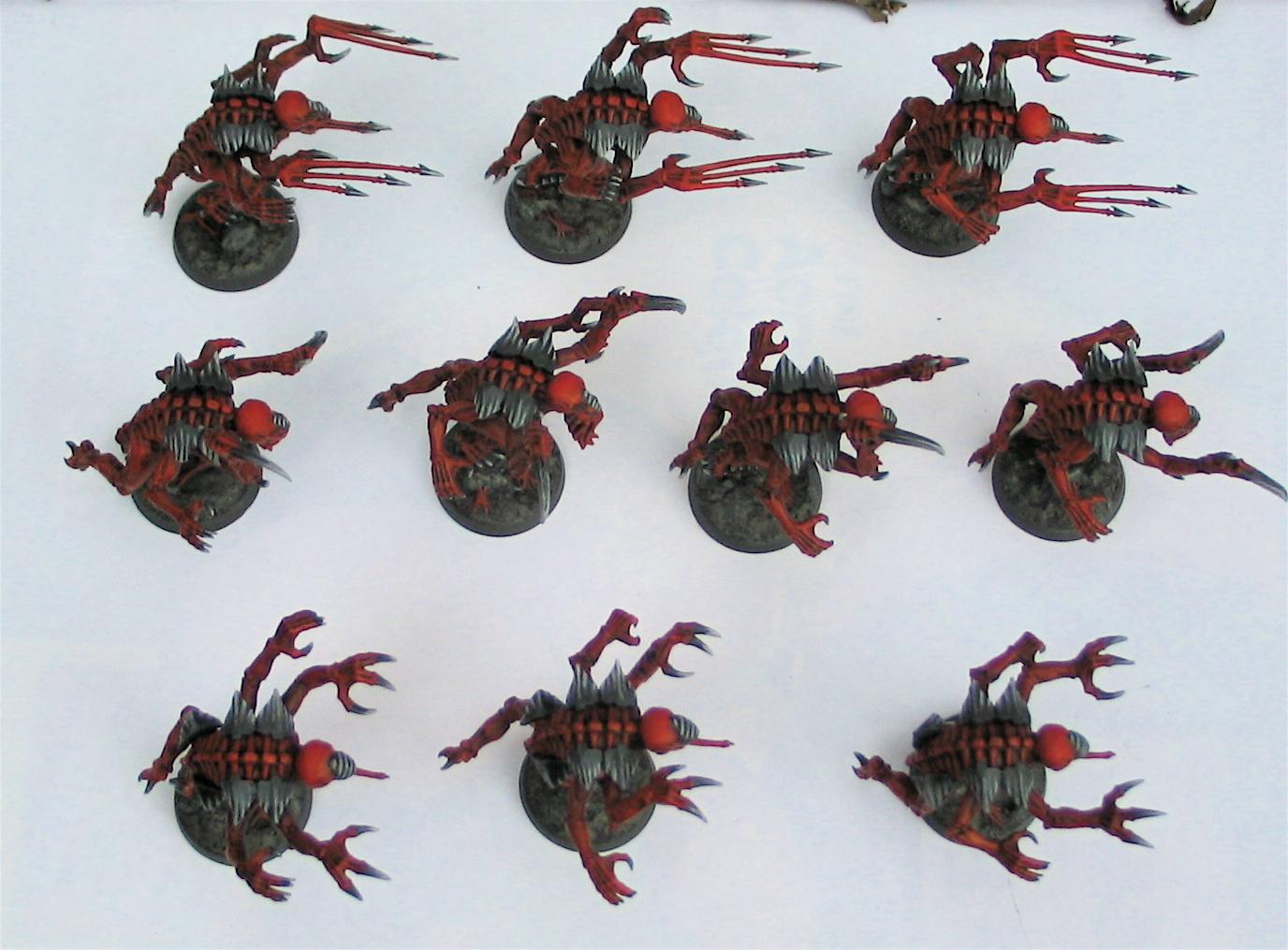 Commission, Conversion, Genestealer, Painted, Tyranids, Ymgarl Genestealers