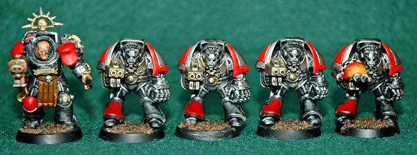 Doom Eagles, Space Marines, Terminator Armor