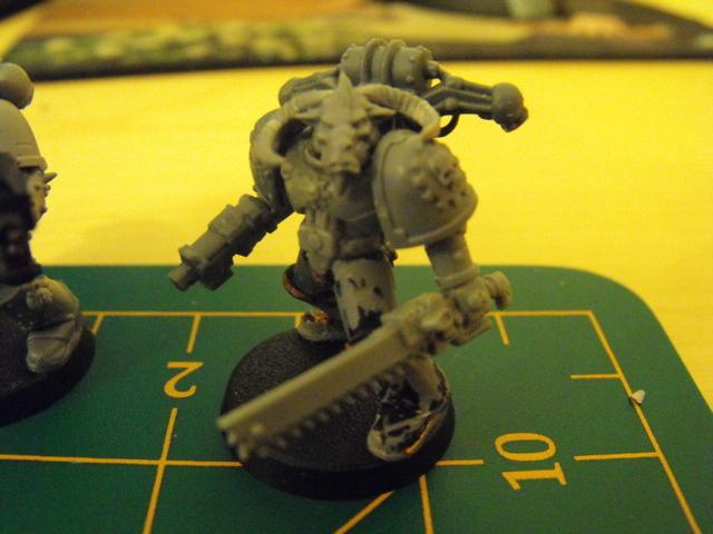 Chaos, Chaos Space Marines, Khorne, Warhammer 40,000, Work In Progress