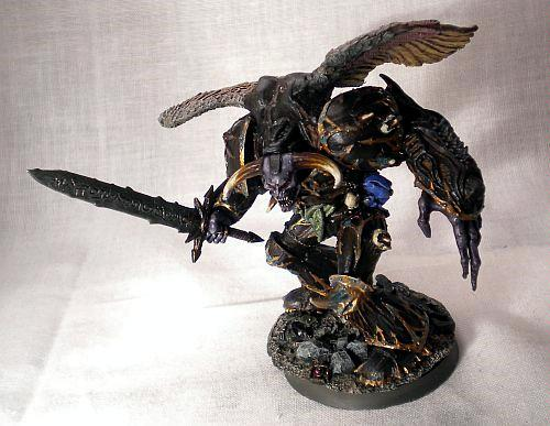 Daemon Prince Of Tzeentch With Wings